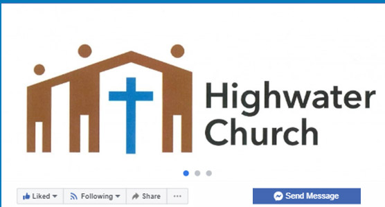 Highwater Church Facebook Page